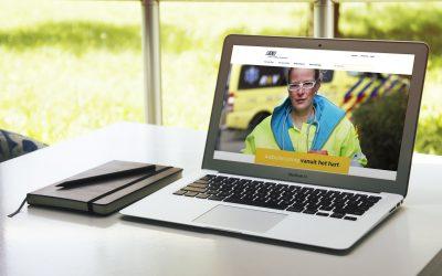 RAV Brabant MWN: redesign corporate website