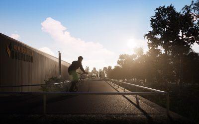 Oorlogsmuseum Overloon: Unieke fietsbrug