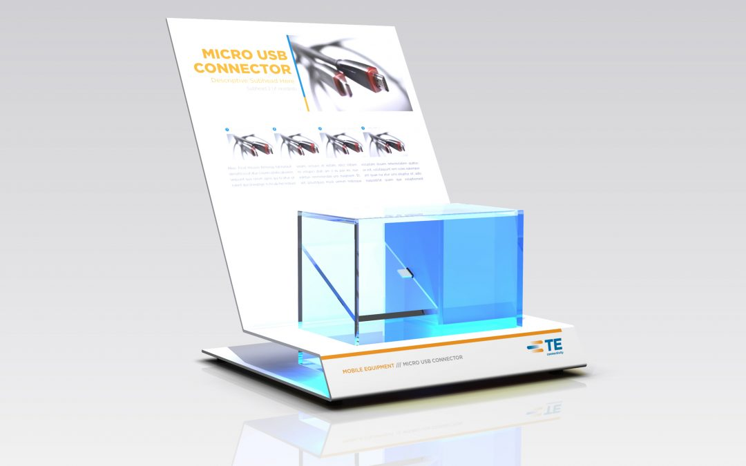 TE Connectivity: Product display