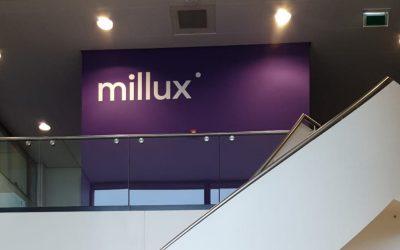Millux: visuele identiteit en herpositionering